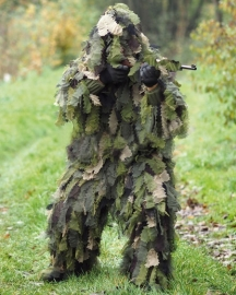 Ghillie Suit 3D - blaadjes camo - Oak Leaf