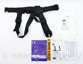 Korps Mariniers kliminstructeur klimharnas van het merk Troll model ITC chest - riem 4,5 cm breed - nieuw in de verpakking - origineel