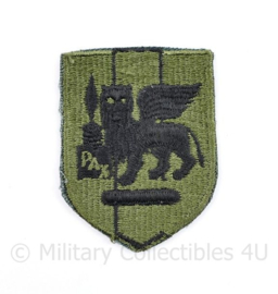 US Army Patch SETAF Southern European Task Force patch subdued - 7 x 5 cm - origineel