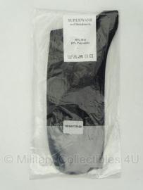 "Nederlandse leger sokken ""Superwash""- 90% wol, 10 % polyamide - ZWART - maat 36-38, 39-42, 46-49 - origineel"