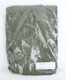 Nederlands leger en Korps Mariniers ODLO groen vest with collar - ODLO trui met halve rits - unisex - nieuw in verpakking - maat XXL - origineel
