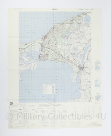USA Defence mapping agency stafkaart Poland Wolin M753 2225I - 1 : 50.000 - 74 x 58 cm - origineel