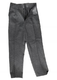 Deens grijs wollen uitgaans uniform broek - maat 92, 100 of 104 cm - origineel