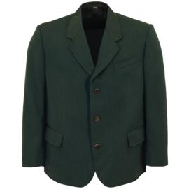 Colbert jasje Polizei groen - origineel