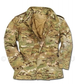 US Field Jacket with liner M65 - Multicamo