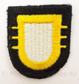 US Army 101st Airborne Division 3rd Battalion Cap patch - Vietnam net naoorlogs en later - afmeting 5 x 6 cm - origineel