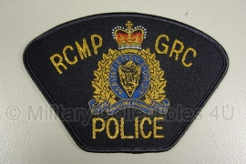 R.C.M.P. G.R.C. Royal Canadian Mounted Police Police Patch - origineel