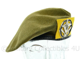 KL baret met insigne Militaire administratie 1981 -  maat 59  - origineel