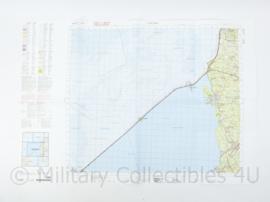 Defensie stafkaart 10 West Sneek M733 - schaal 1 : 50.000 -57 x 83 cm - origineel