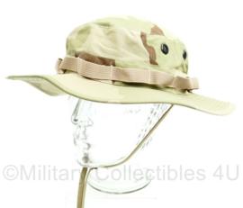 Hoed army jungle hat boonie merk Teesar - KL en US army - maat XL - gedragen - origineel