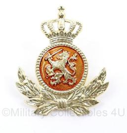 KL Landmacht onderofficier DT pet insigne - mist 1 pin - 5,5 x 4,5 cm - origineel