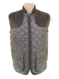 HUNTING Vest - bruin/groen