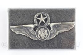 US Army Master Wing voor op de borst - Chief Air crew - naoorlogs - afmeting 8 x 4 cm - origineel