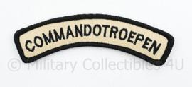 KCT Commandotroepen straatnaam embleem - met klittenband - 11 cm breed