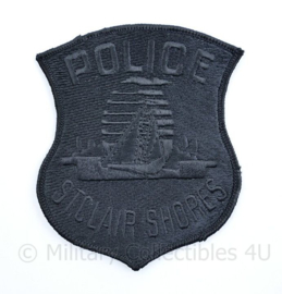 Police St Clair Shores patch Subdued  - 11,5 x 9 cm - origineel