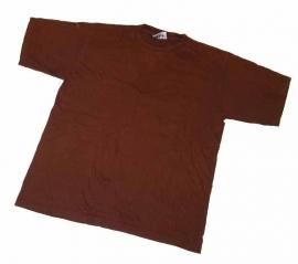 Britse leger bruin T shirt korte mouw gebruikt - Large  - origineel