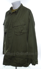 US Army Jungle Fatique jacket 2nd pattern ONGEBRUIKT - vietnam oorlog - maat Large/Long - origineel