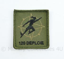 Defensie nieuwste model 2021 borst embleem klittenband NATO 120 Deplcie van het B & T co Bevoorrading Transport  - 5 x 5 cm - origineel