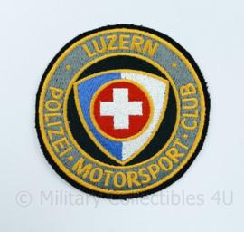 Luzern Polizei Motorsport club - diameter 9 cm - origineel
