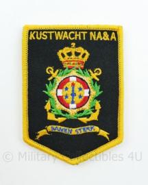 Kustwacht NA&A Kustwacht Nederlandse Antillen en Aruba Samen Sterk met klittenband- 9 x 6,3 cm