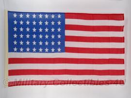 US vlag  48 sterren katoen!