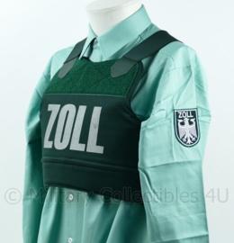 Duitse Zoll Douane kogel- en steekwerend vest met ballistische inhoud en hoes - NIEUW - BSST model P5 - maat U1 = Extra Small - origineel