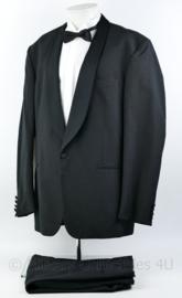Heren kostuum jas, broek en overhemd set - maat 58 - origineel