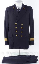 """KM Koninklijk Marine uniform jasje en broek officier rang """"Kapitein-Luitenant ter zee"""" - maat M - origineel"""