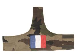 Franse leger CCE camo armband - met Franse vlag - origineel
