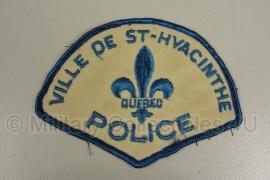 Ville de St. Huacinthe Quebec Police patch - origineel