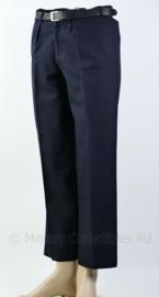 Koninklijke Marine donkerblauwe broek met broekriem - buikomtrek 80 cm - origineel