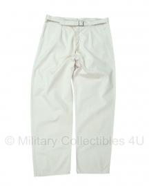 Marine broek Creme wit Bundes Marine - 178/86   - origineel