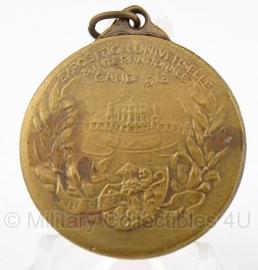 """Belgische """"exposition universelle 1913"""" gouden medaille - Origineel"""