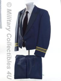 KLU Luchtmacht Gala Tenue jasje, gilet MET broek - maat 48 - origineel