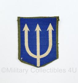 Defensie model  drietand 3e Divisie gevouwen 1951-1959 - 6,5 x 5 cm - origineel
