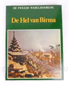 Naslagwerk boeken over WO2 De Hel van Birma -  K.A. van den Hoek