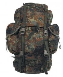 Bundeswehr flecktarn rugzak 65 liter   - origineel