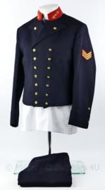 Korps Mariniers Adelborsten uniform met gillet -  maat 51 - Sergeant der Mariniers - origineel