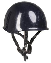 Franse donkerblauwe Gendarmerie helm zonder opdruk  - origineel