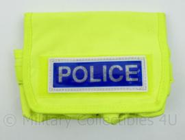 Britse Politie Gele koppeltas met tekst POLICE - nieuw - origineel