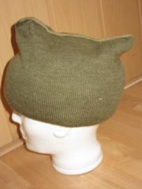 KCT en Nederlandse leger groene sjaal Mutsdas - 100 x 22 cm. - origineel