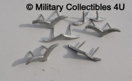 Luftwaffe kraagspiegel vleugel metaal