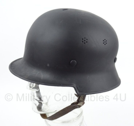 WO2 Polizei of Feuerwehr Duitse helm 1934 - maat 57 - origineel WO2