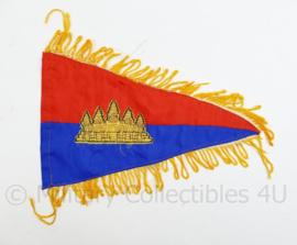 Onbekend vaandel Thailand? - 32,5 x 20 cm - origineel