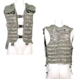 Tactical MOLLE vest zonder tassen - ACU camo - verstelbare maat