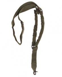 Tactical carry strap voor wapens Single Point Weapon Sling- groen
