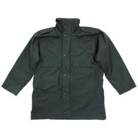 Britse Politie groene regen- en wind bestendige jas regenjas Anorak Windproof Police - meerdere maten - origineel