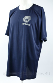 Defensie Staf B & Tco Bevoorrading en Transport shirt donkerblauw  -  NIEUW - maat XL - origineel