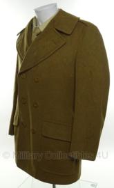 US WO2 Mackinaw Coat - Size 37R= nl maat 47  - origineel 1944