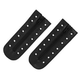 Snelsluiting / zip speedlace - 7  gats - voor legerkisten